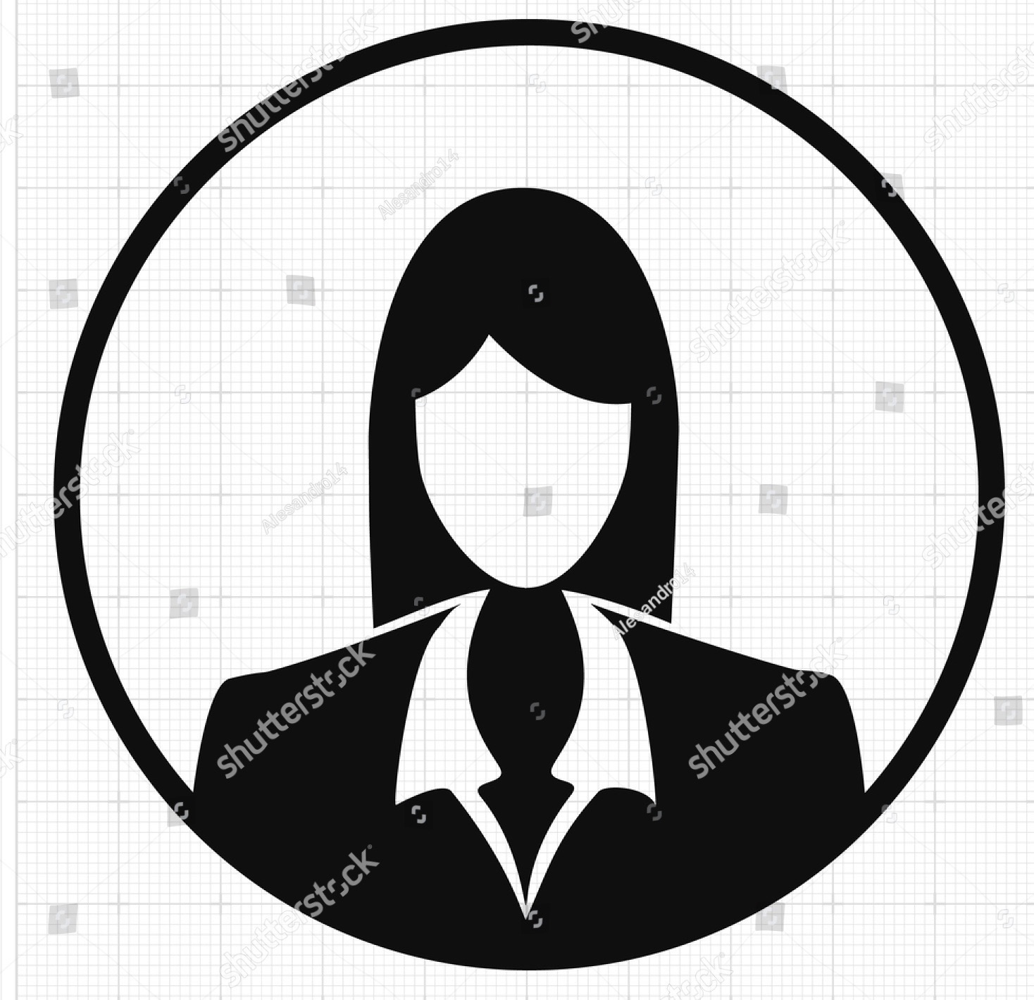 stock-vector-silhouette-business-woman-313370006